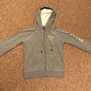 Pink VS Grey Zip Up Jacket